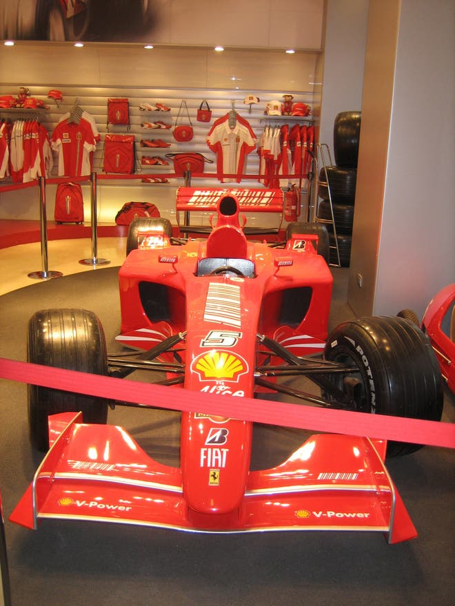 ferrari store in rome 2 reviews and 5 photos. Black Bedroom Furniture Sets. Home Design Ideas
