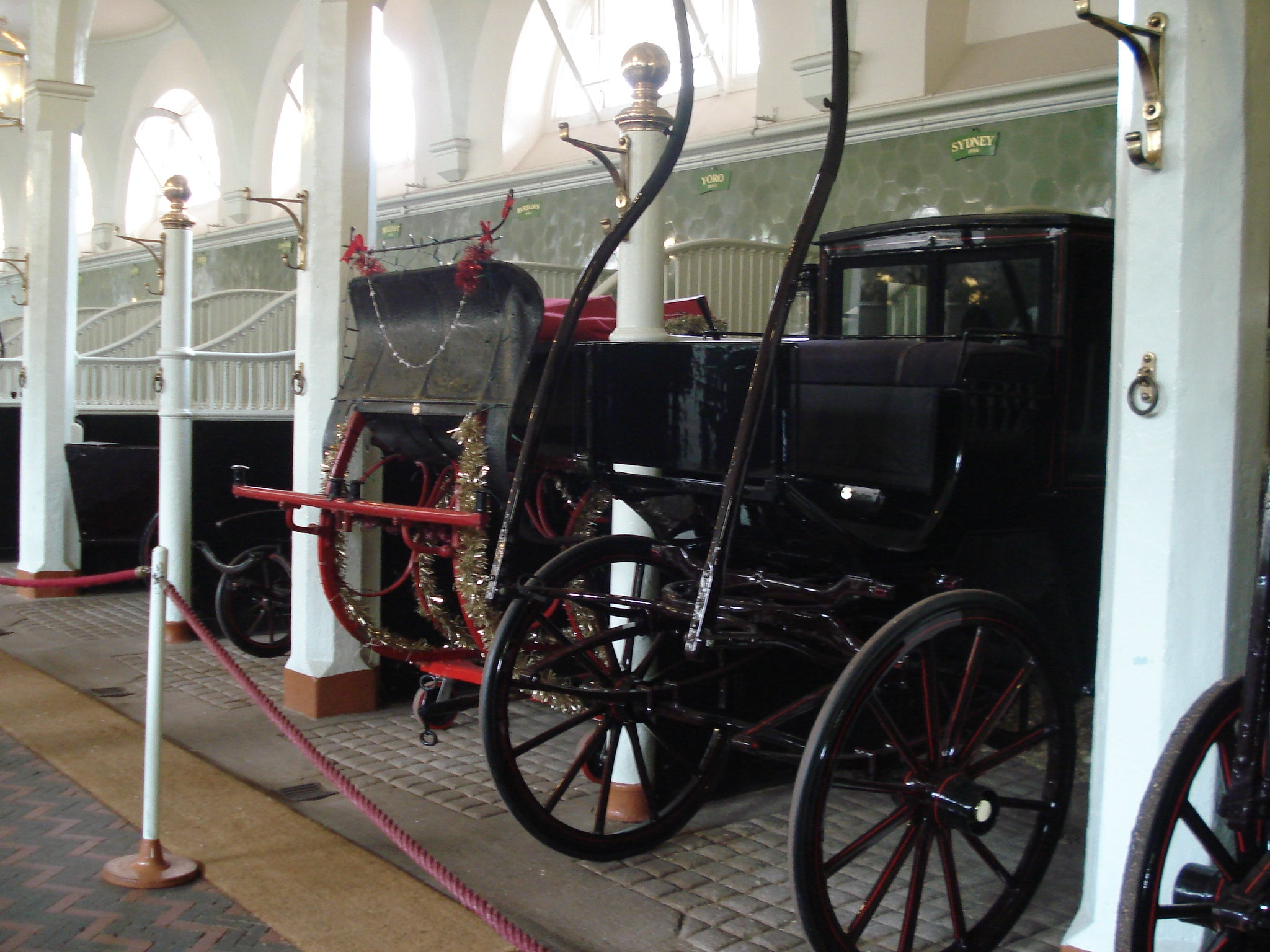 Transporte en Royal Mews