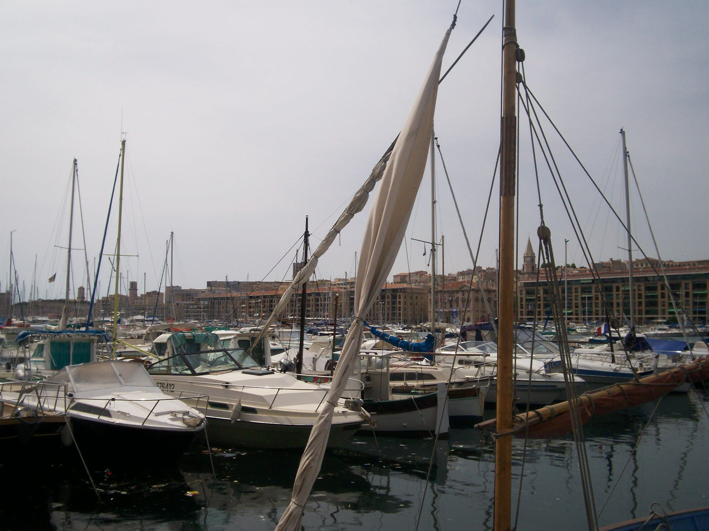 Caravel in Port of Marseille