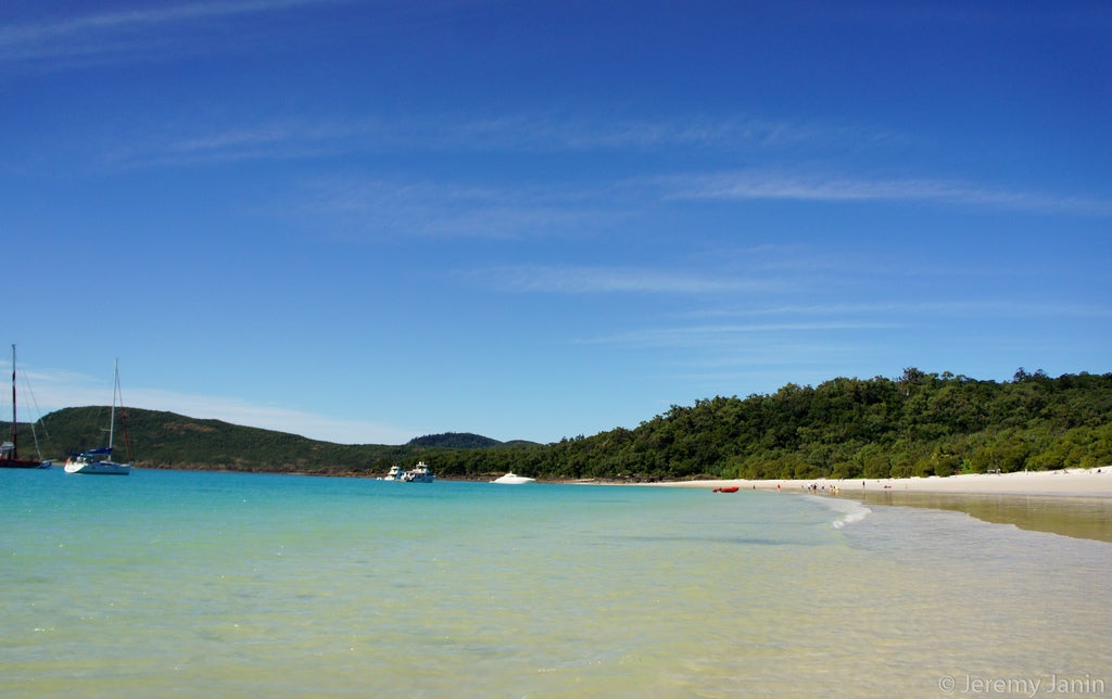 Zona tropical en Islas Whitsundays