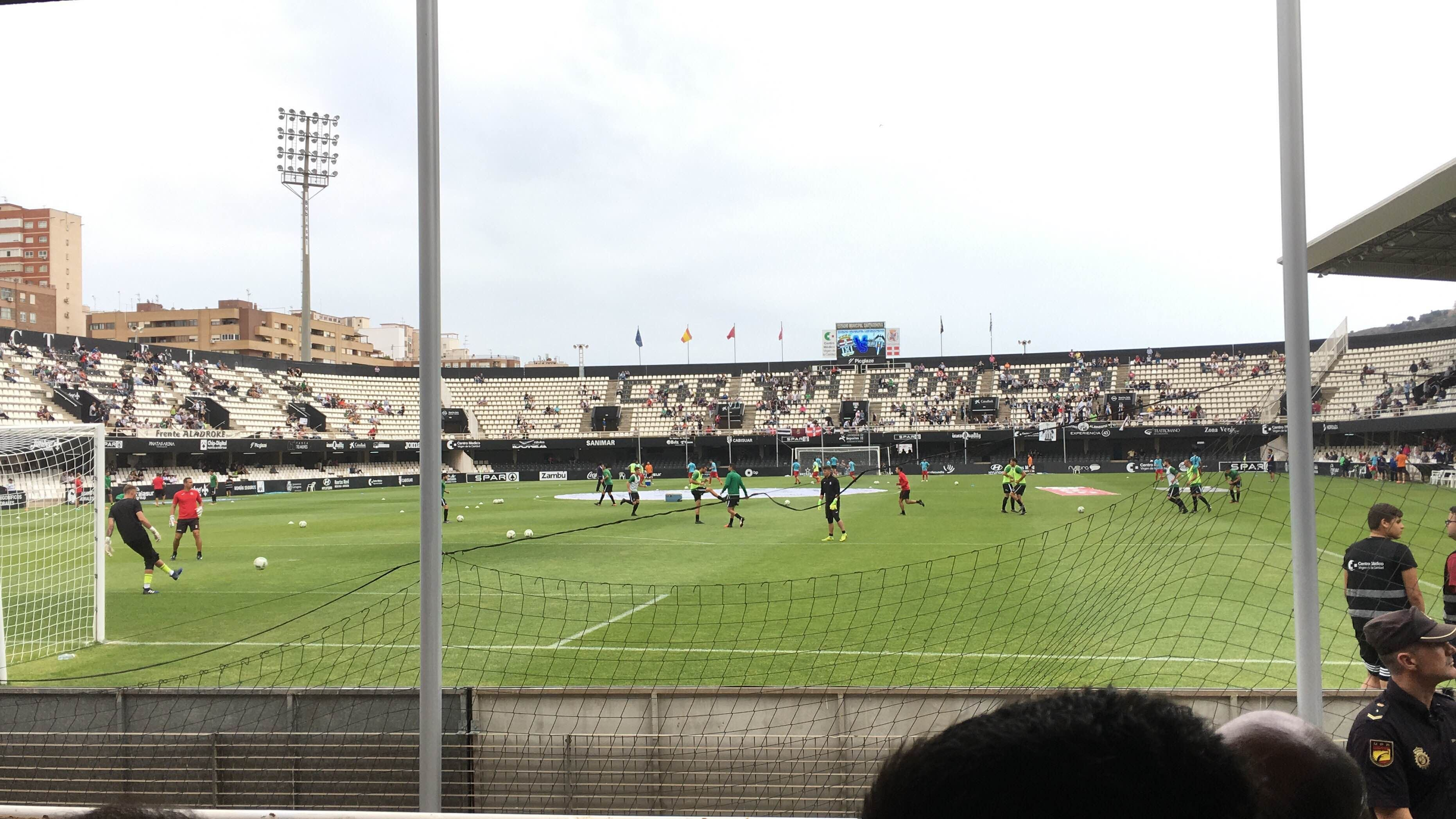 Estadio de fútbol en Estadio Cartagonova