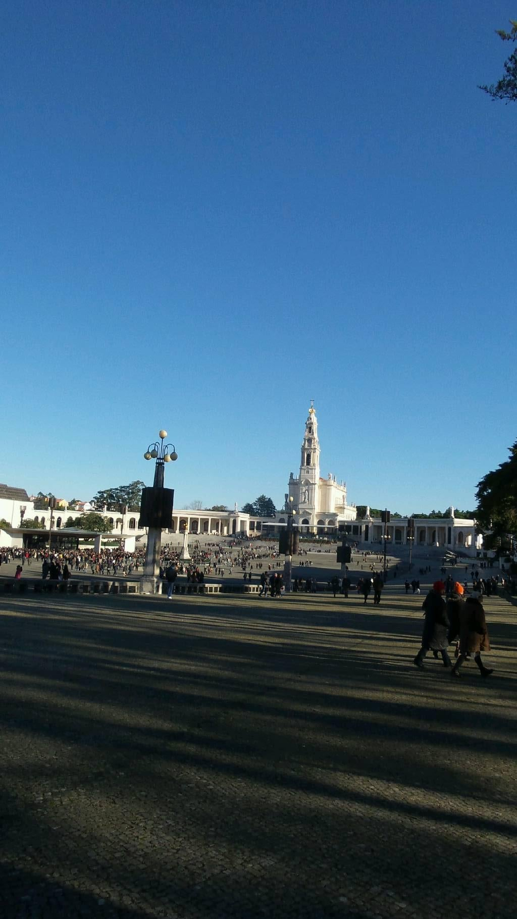 Square in Basilica of Our Lady of the Rosary of Fatima