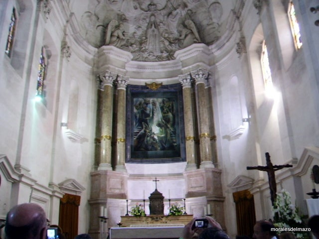 Altar in Basilica of Our Lady of the Rosary of Fatima