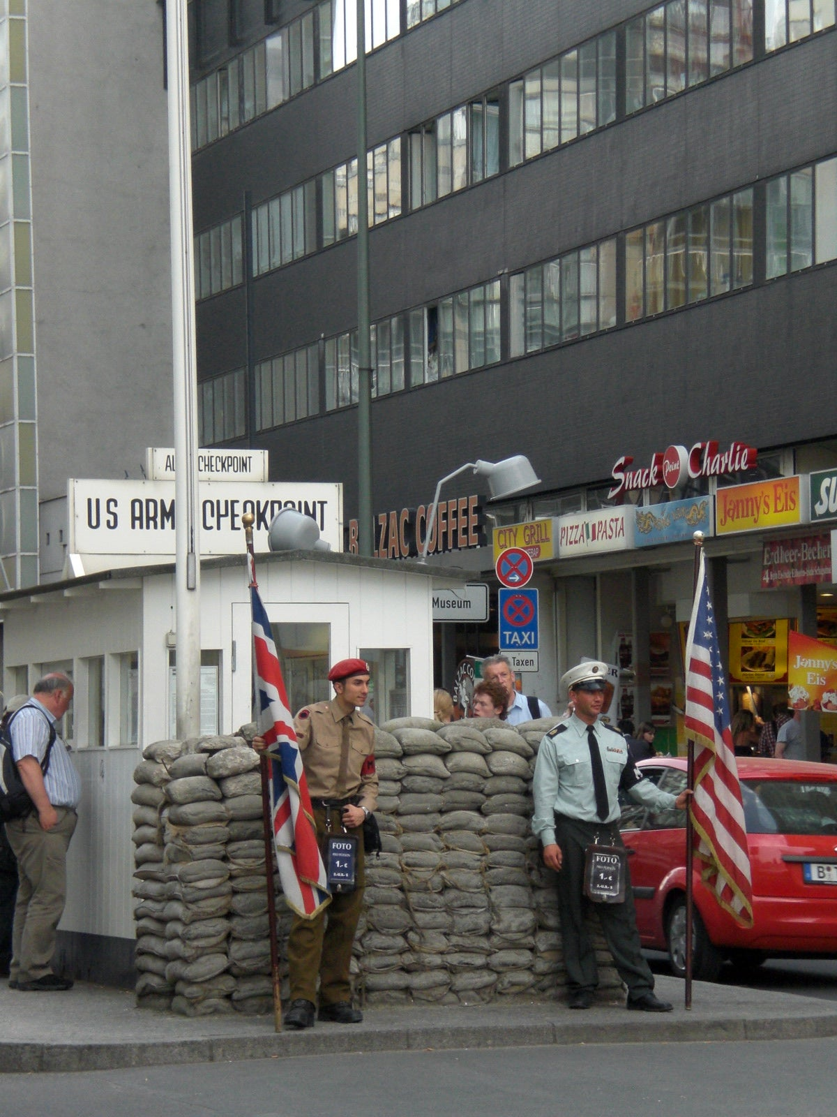 Carreras en Checkpoint Charlie