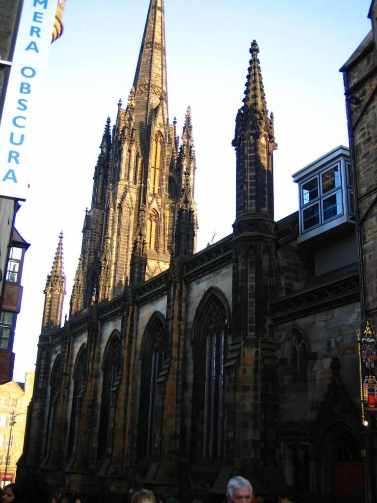 Iglesia en Royal Mile