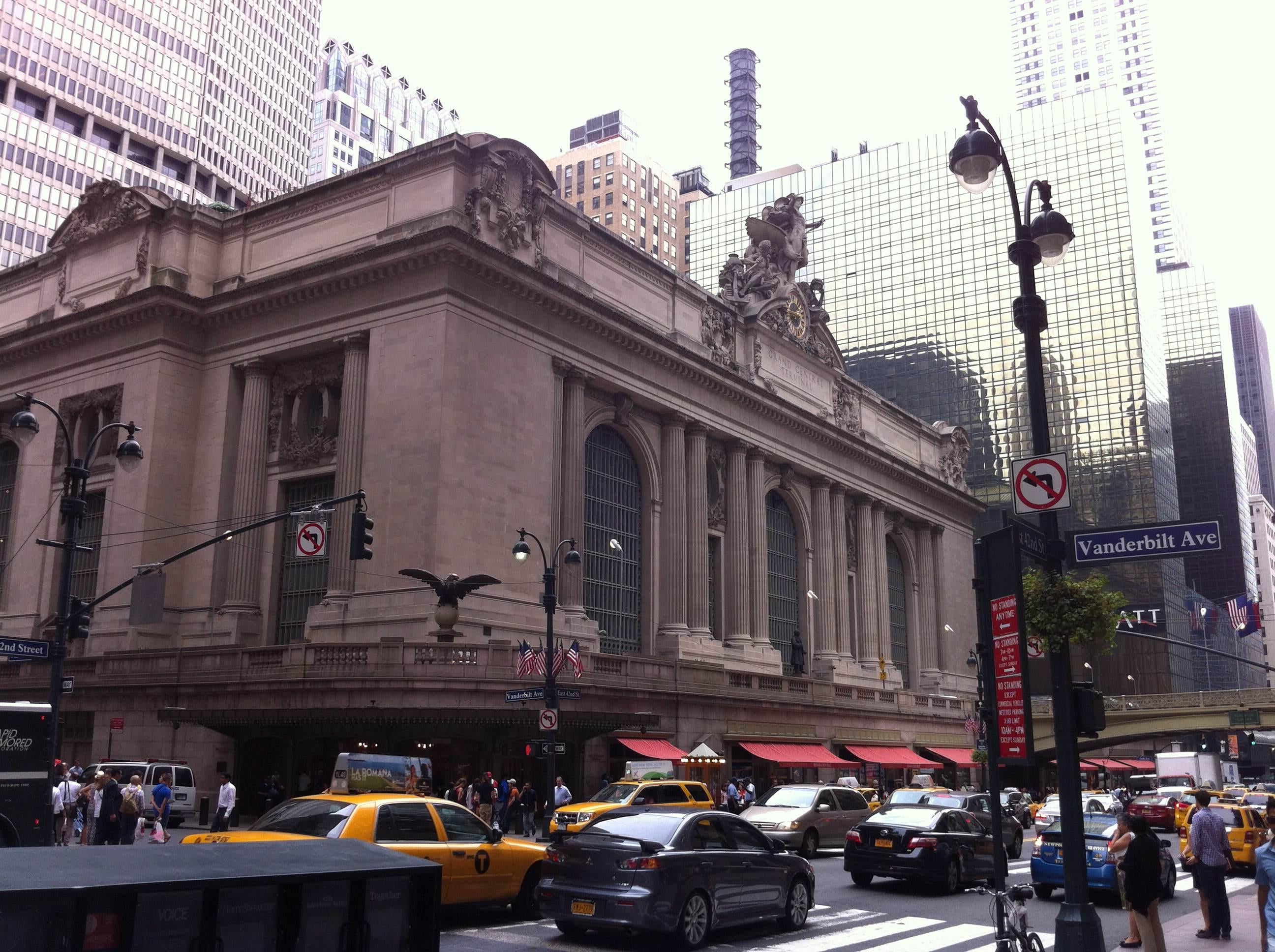 Pueblo en Grand Central Station
