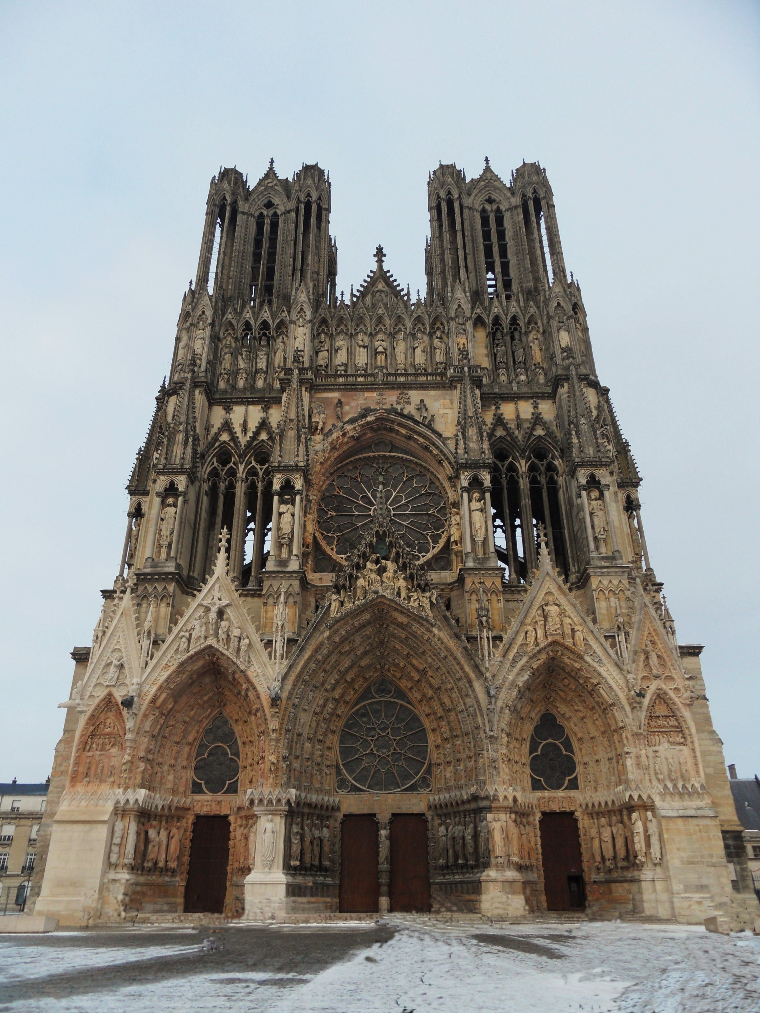 Historia antigua en Catedral de Reims