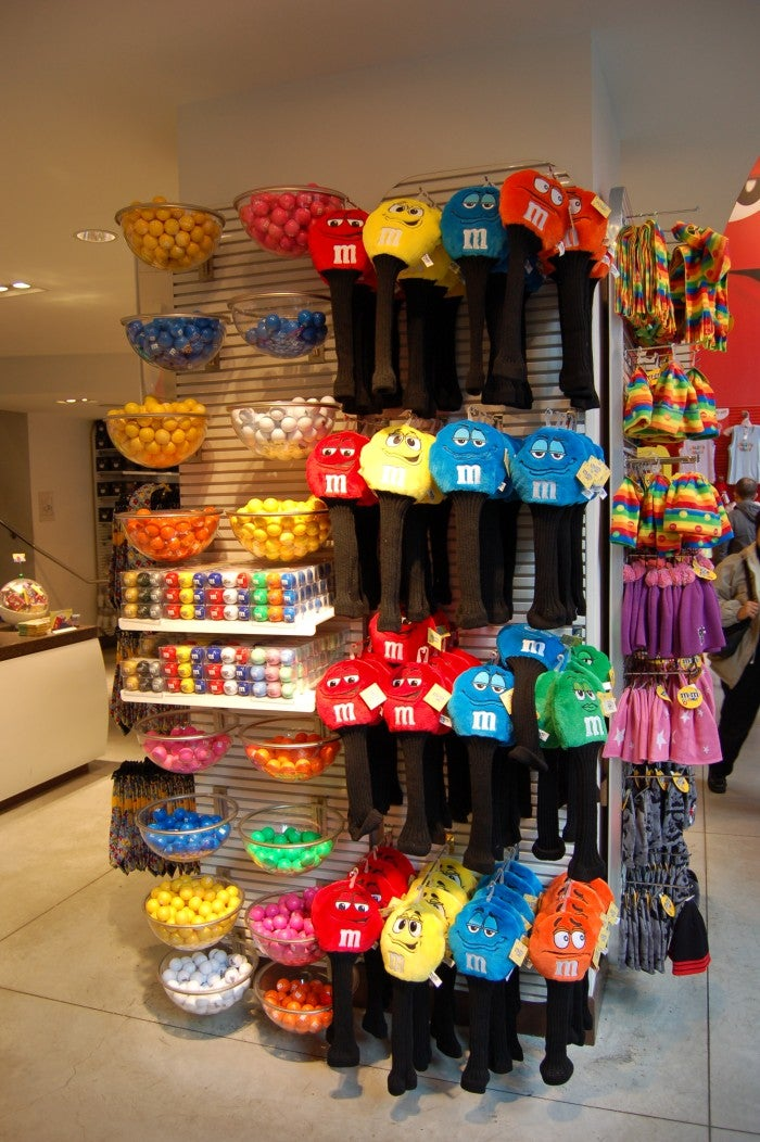 Postre en M&M'S World