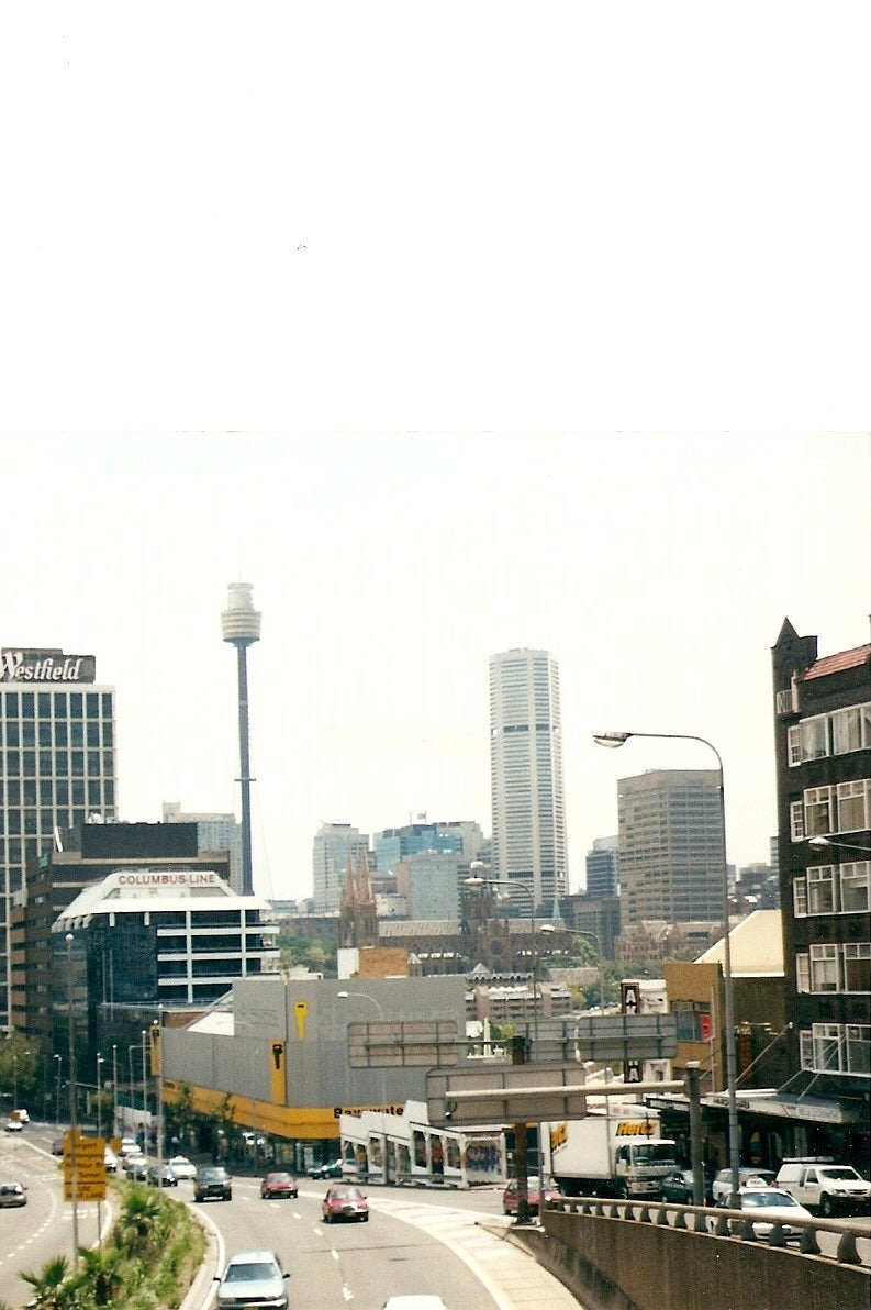 Skyline en Sydney Tower