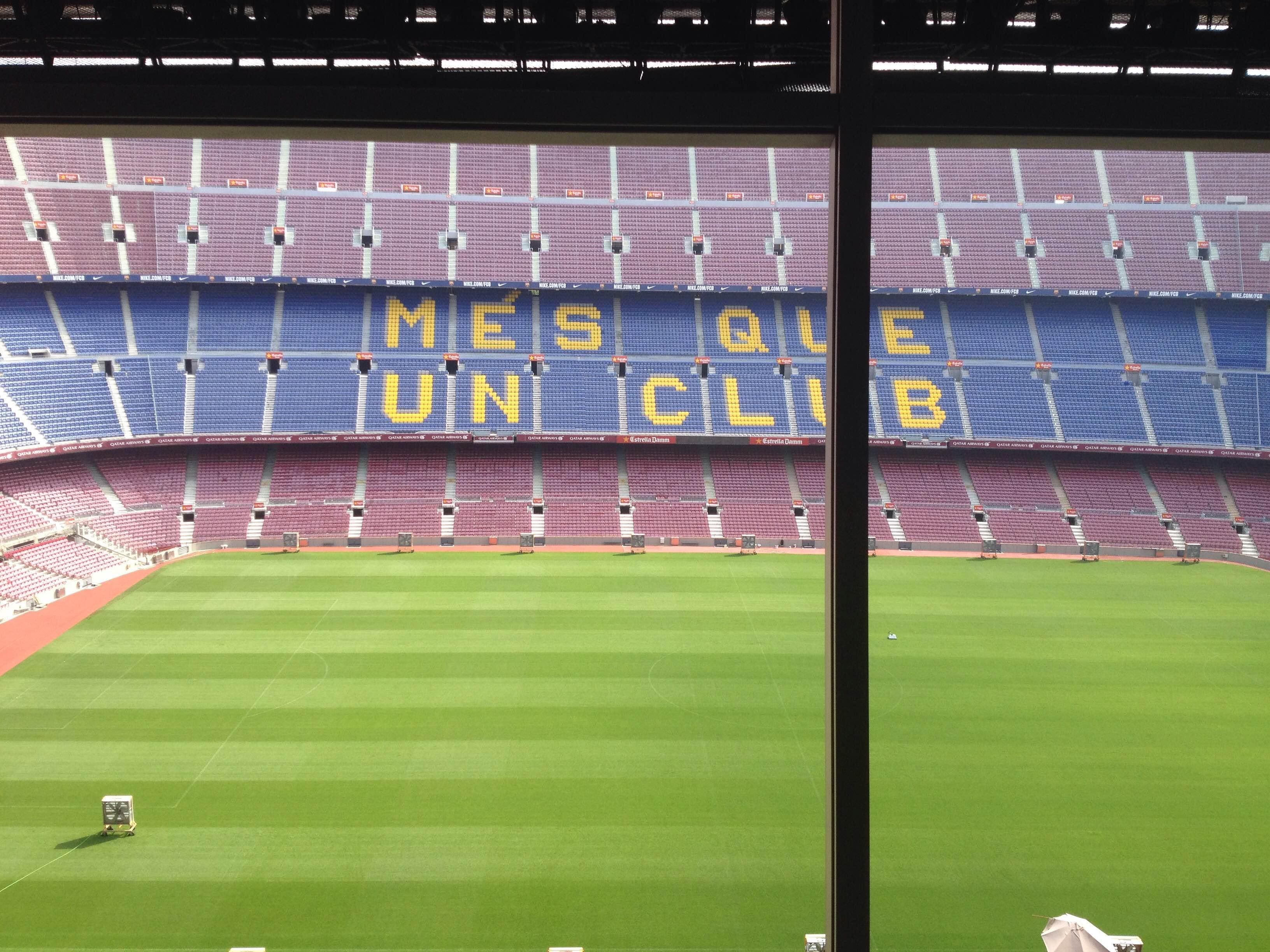 Estadio en Camp Nou