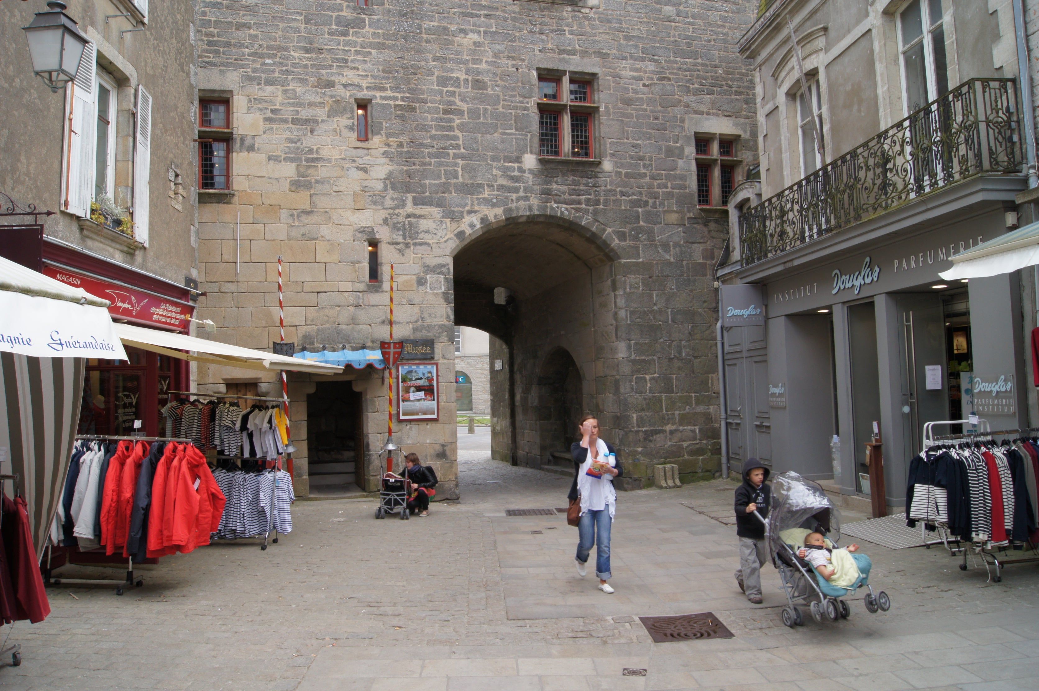 Guérande Museum and Ramparts