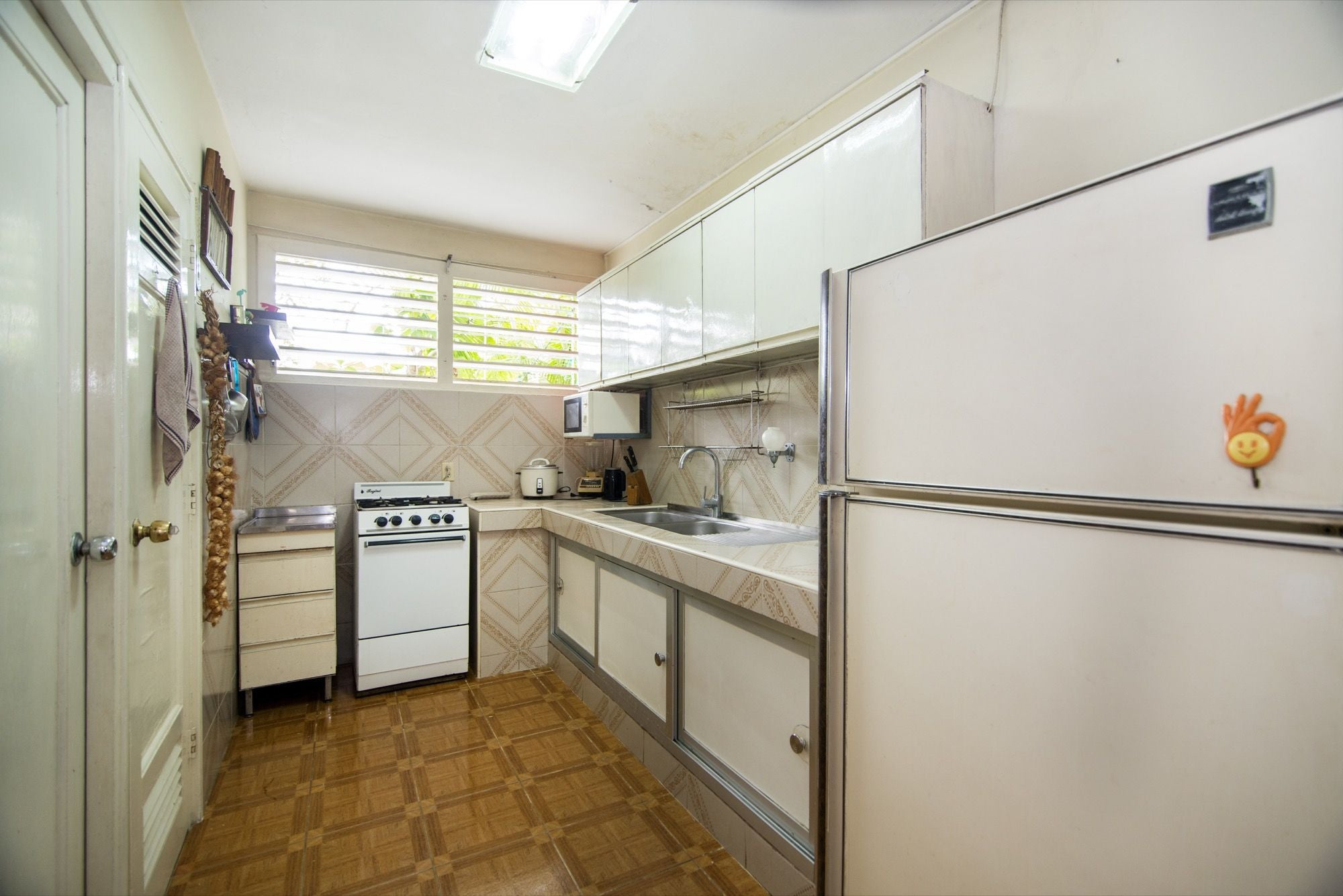 Cocina en Typical apartment from the 50's
