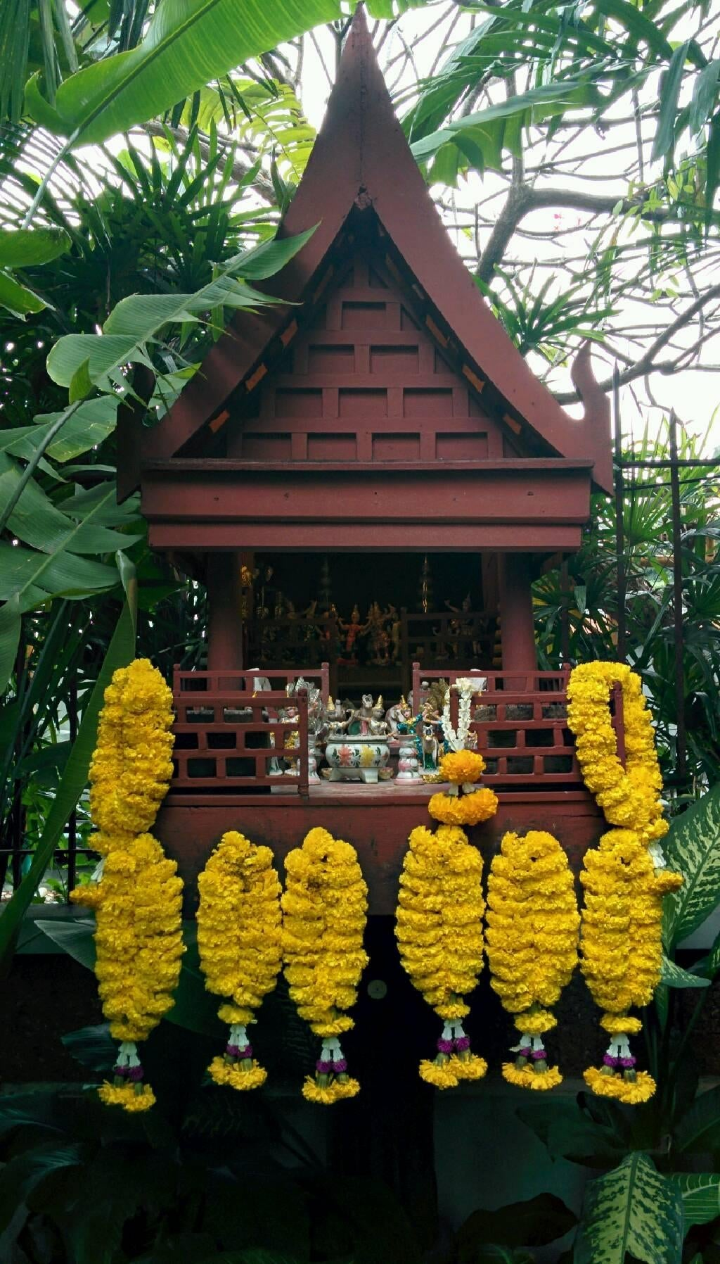 Templo en Casa de Jim Thompson