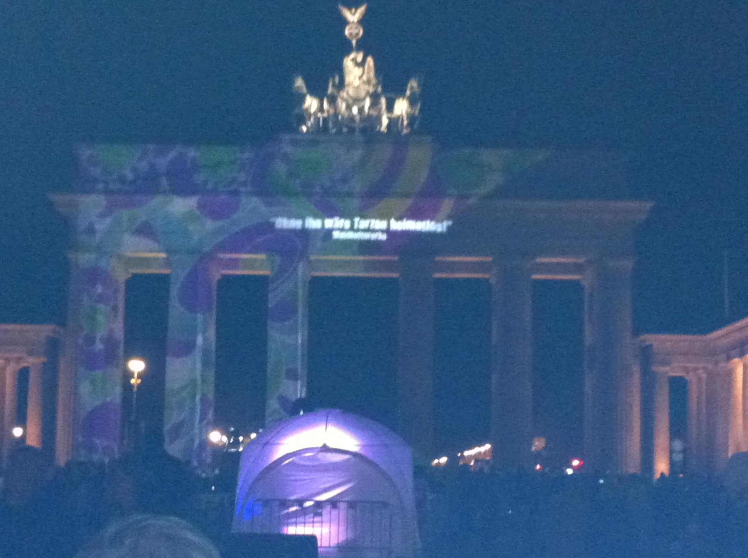 Landmark in Brandenburg Gate