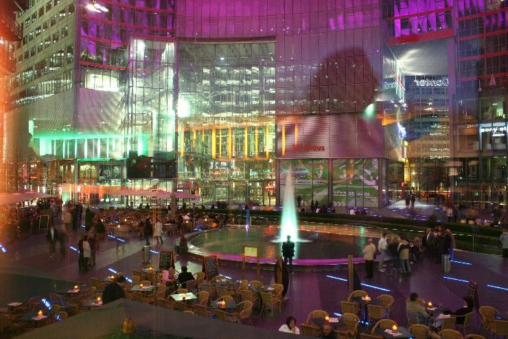 Restaurante en Sony Center