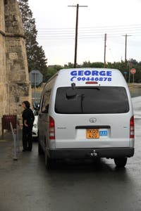 Rental with driver George