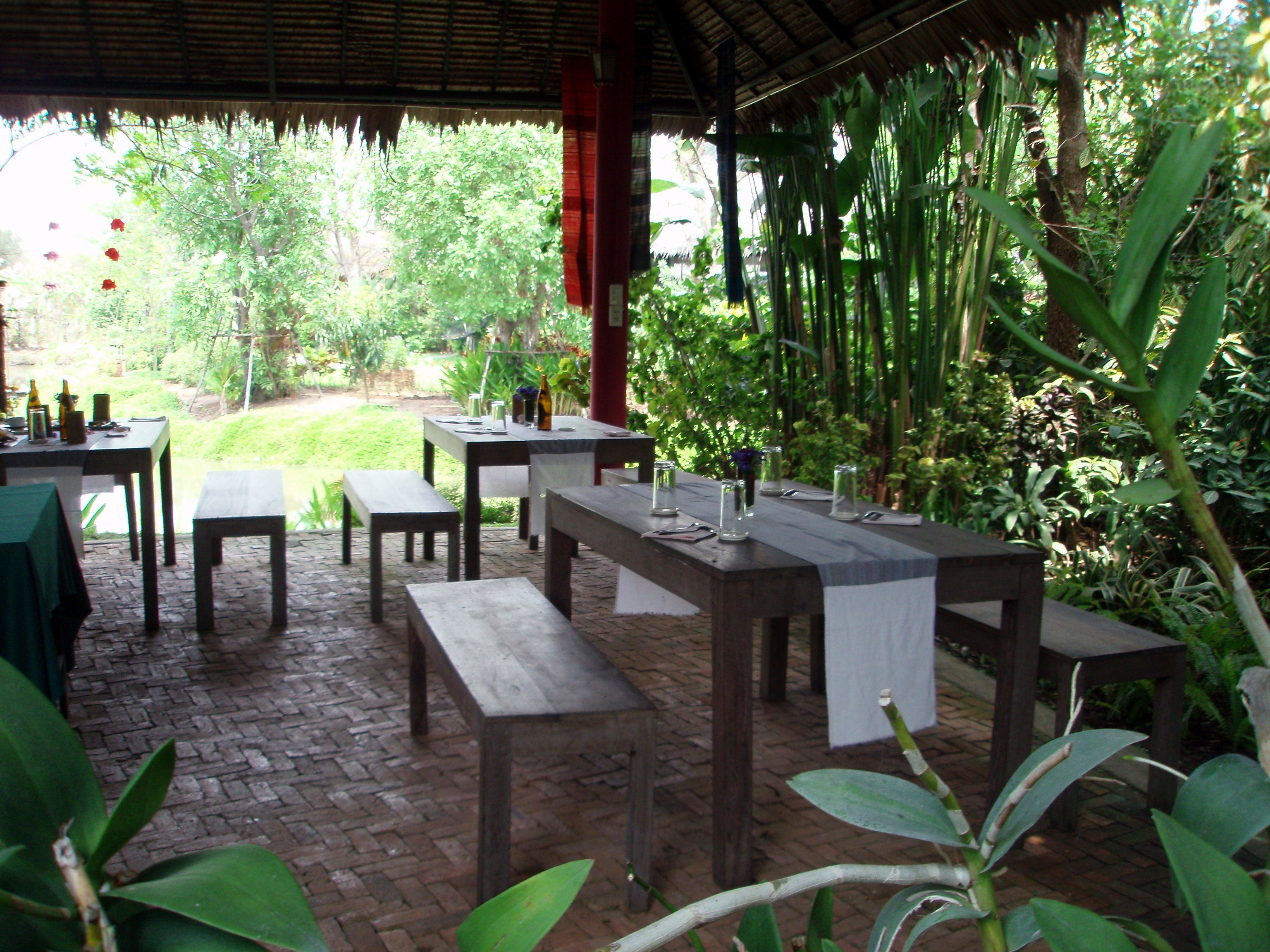 Villa en Restaurante The Chaba Lagoon