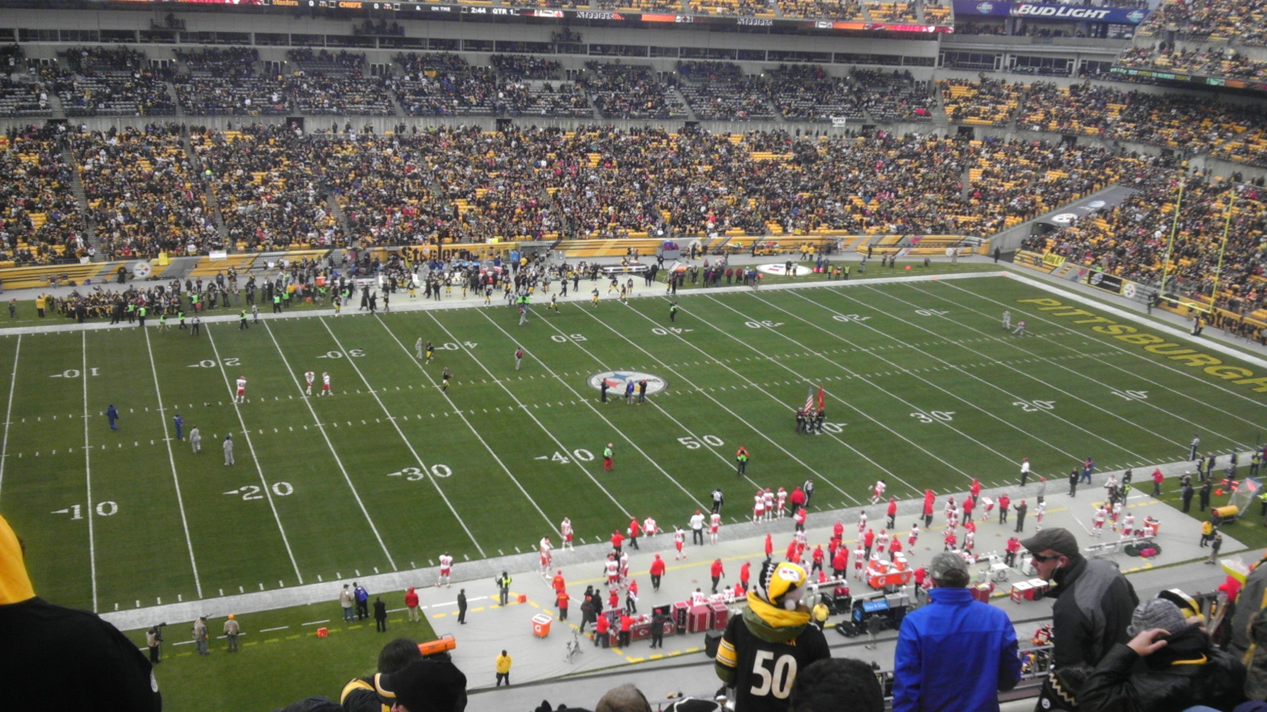 Fútbol canadiense en Heinz Field