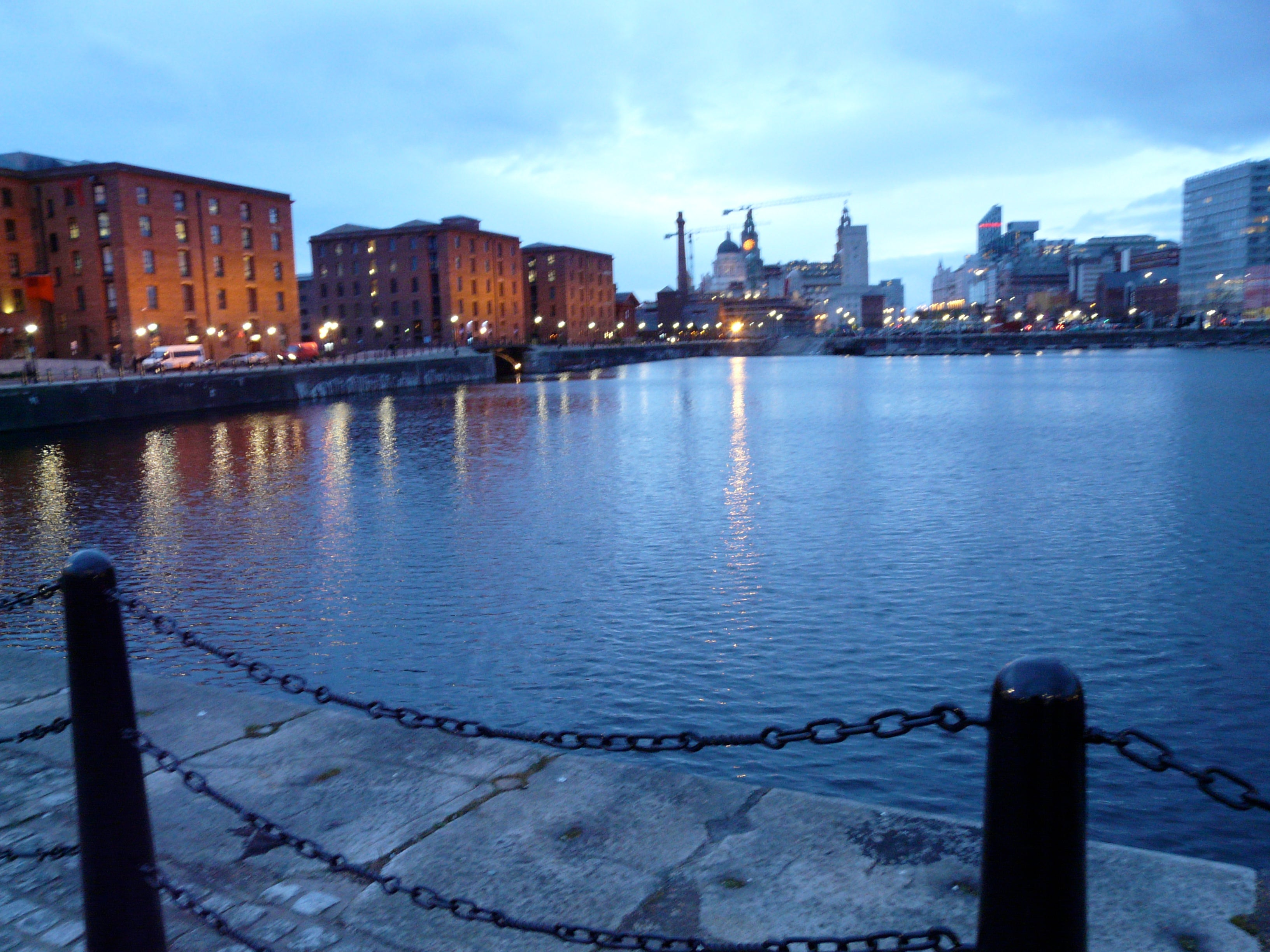 Azul en Royal Albert Dock