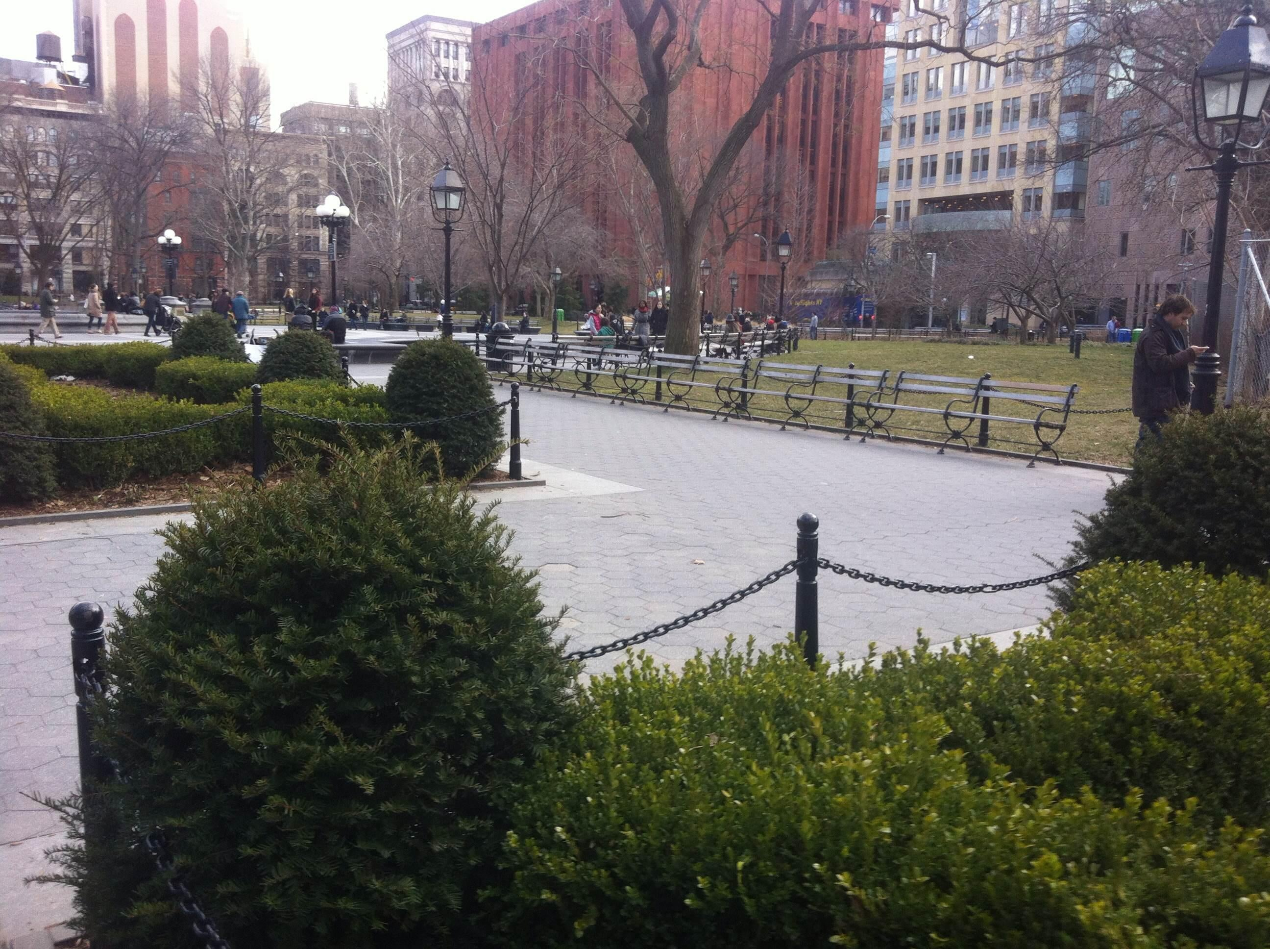 Parque en Washington Square Park