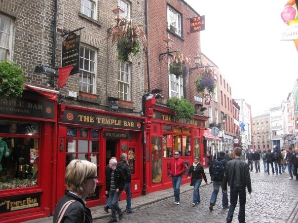 Pueblo en Temple Bar