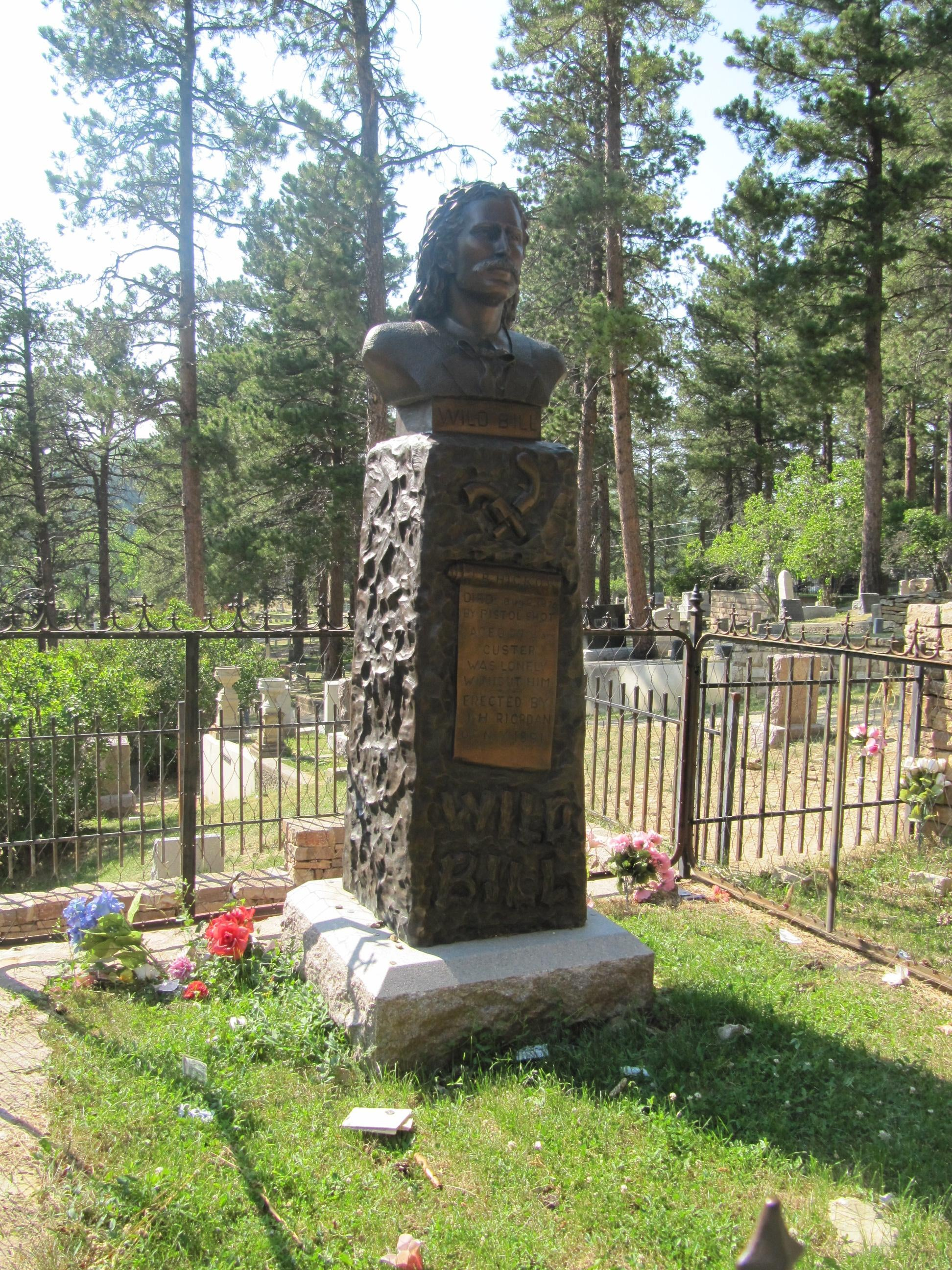 Tomb of Wild Bill