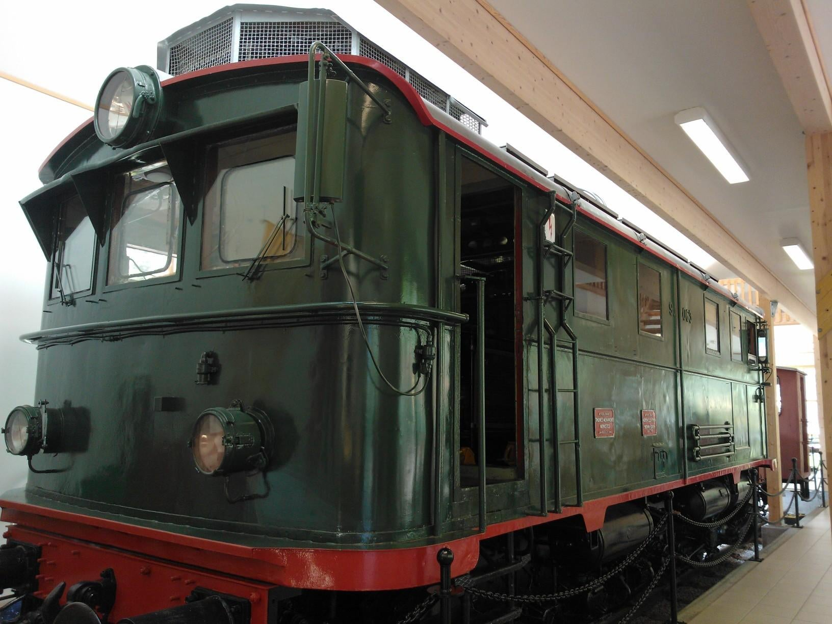 The Flaam train Museum
