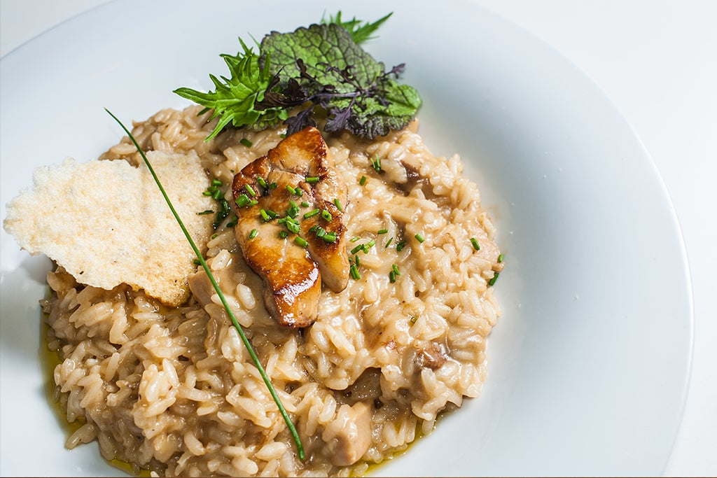 Risotto en Monkey Bar & Grill