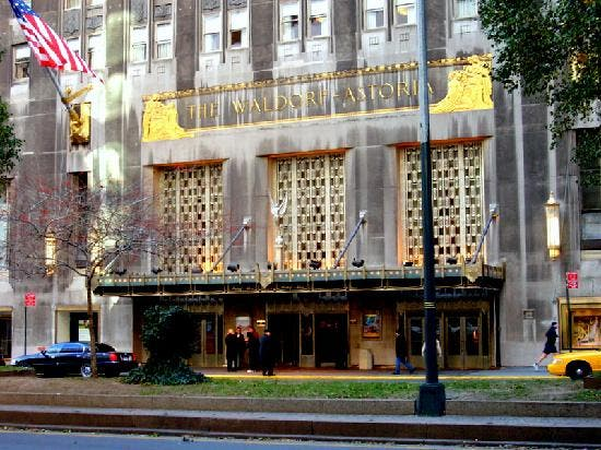 Waldorf astoria new york hotel in new york 3 reviews and8 for Hotel waldorf astoria
