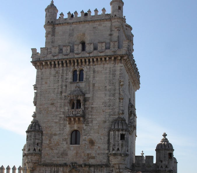 Roman Temple in Belém Tower