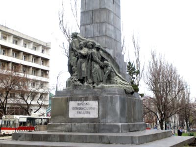 Monument to the young revolutionaries