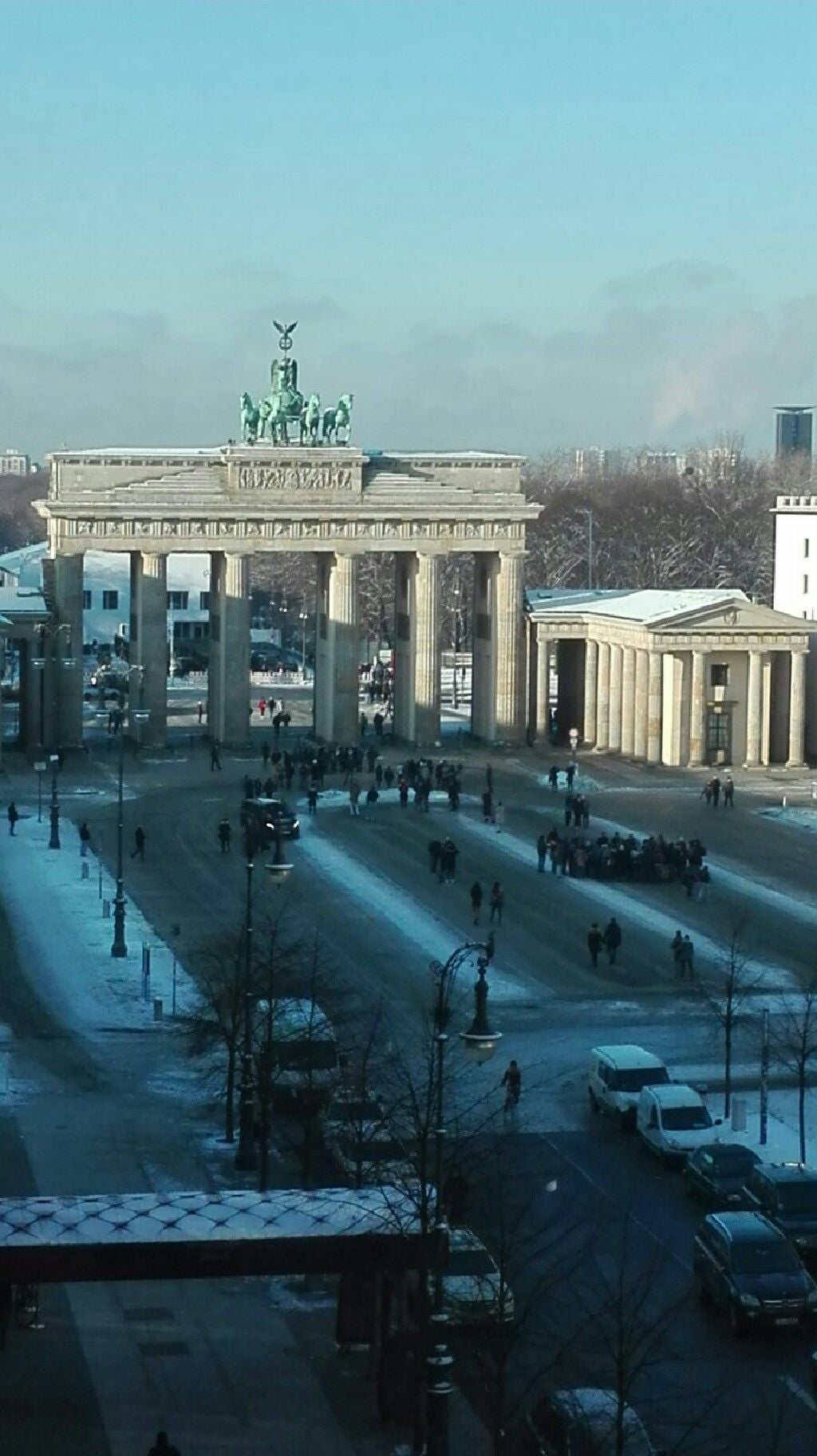 Weather in Brandenburg Gate