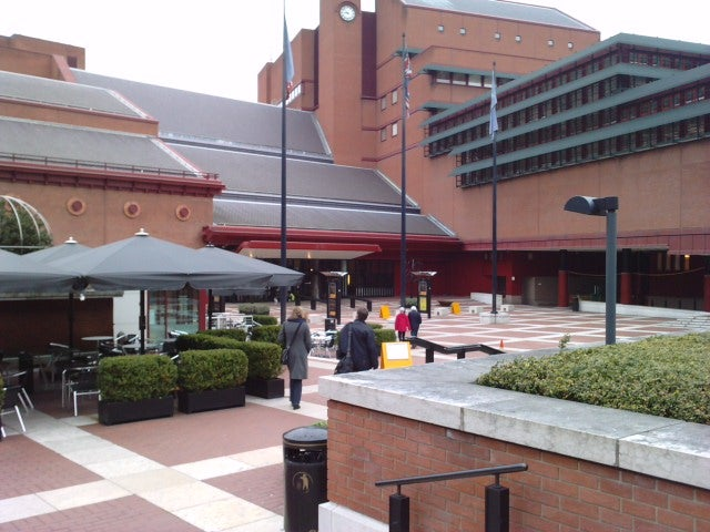 Pérgola en British Library
