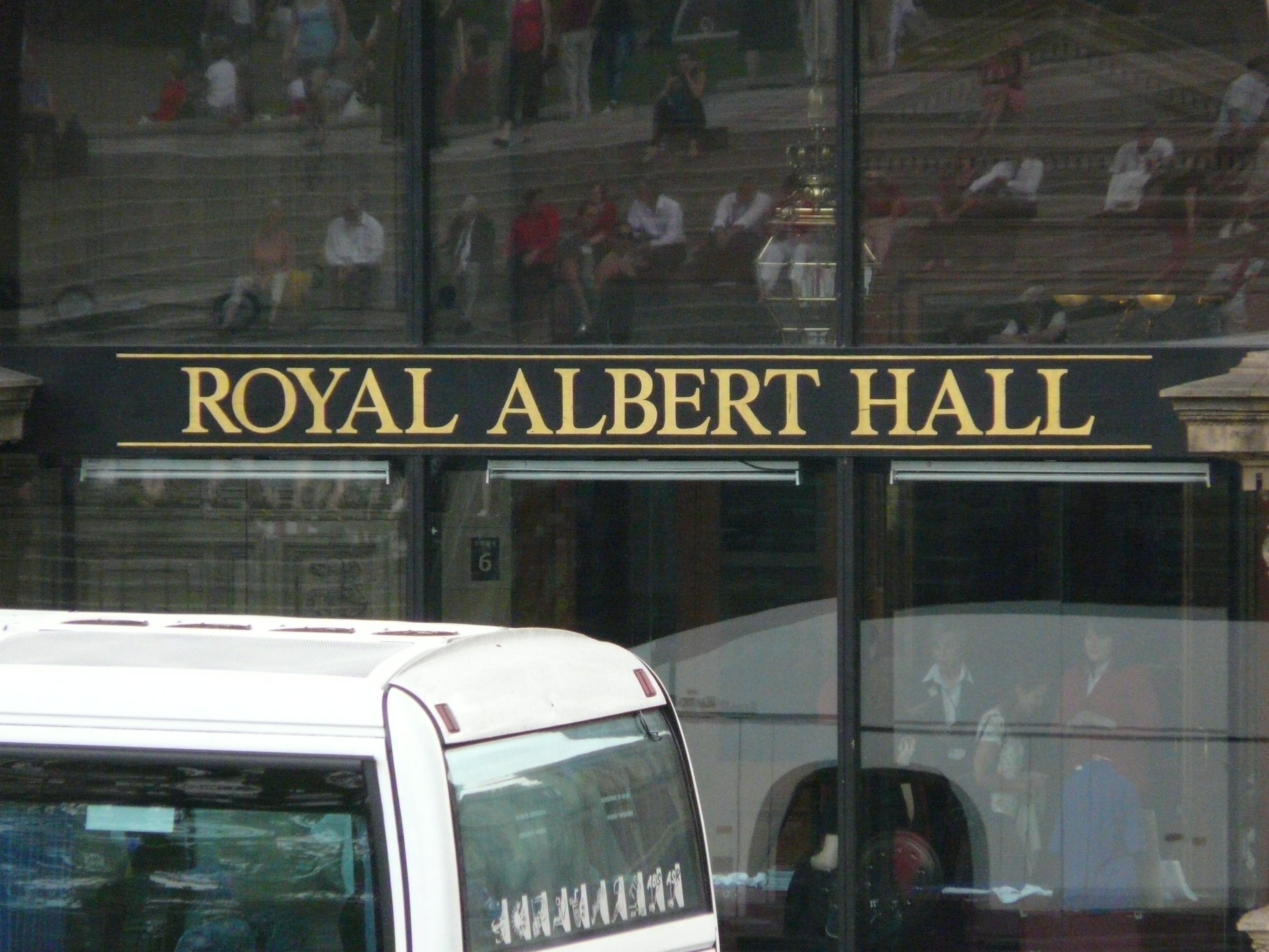 Reflejo en Royal Albert Hall