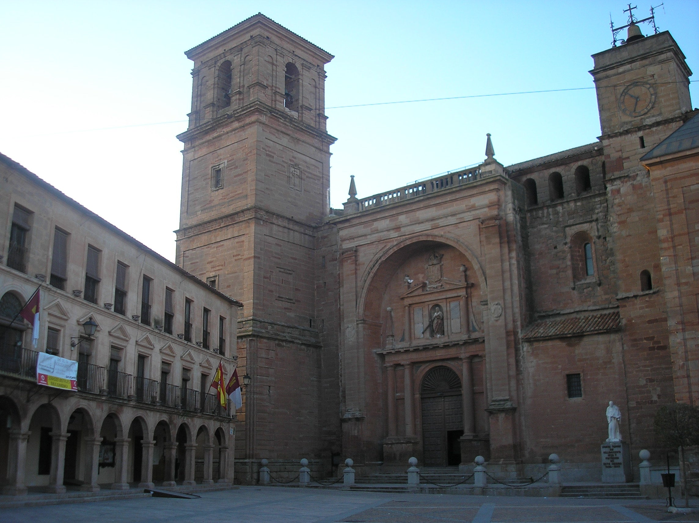 Main Square of Villanueva de Los Infantes