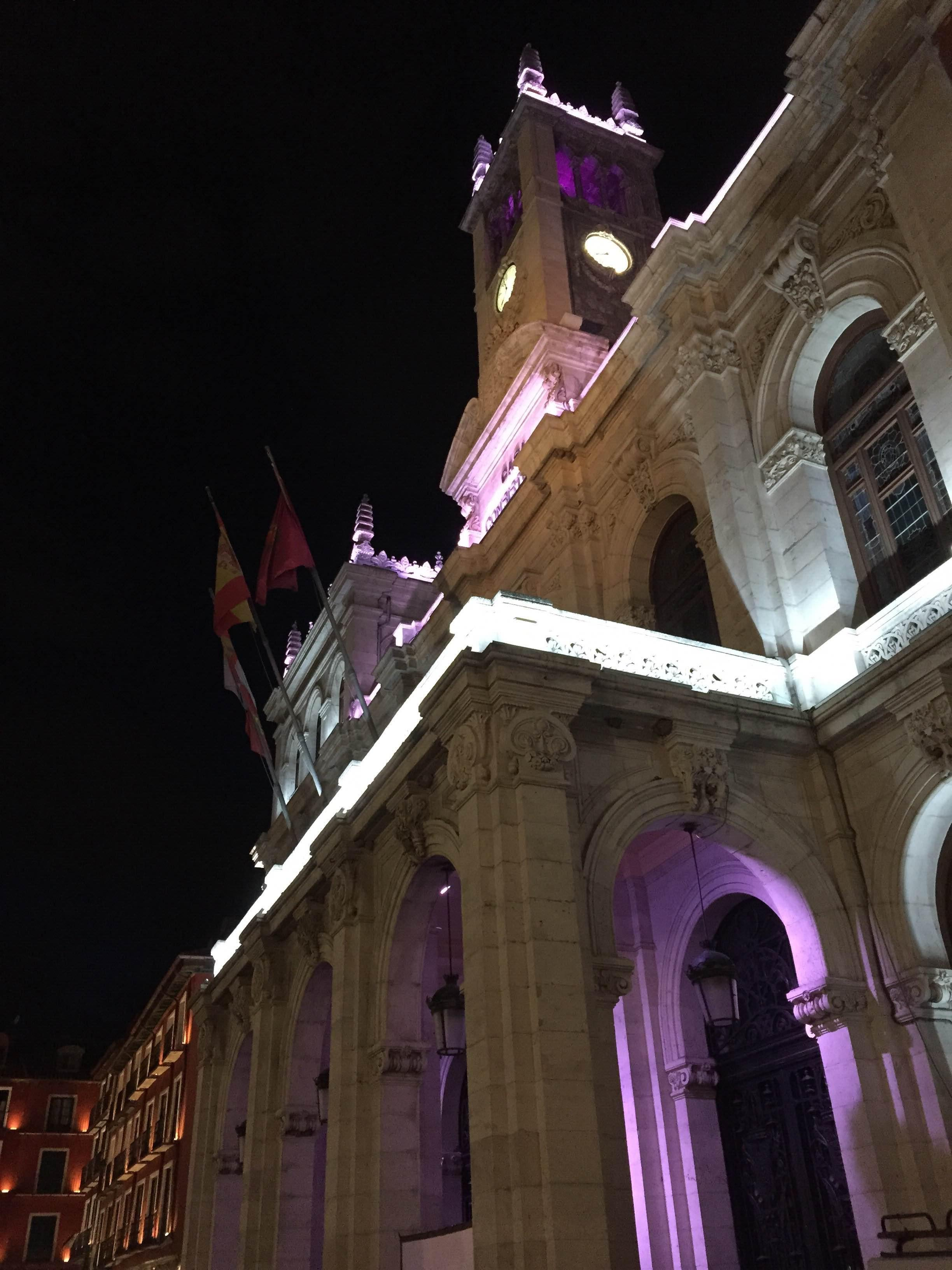 Morado en Plaza Mayor