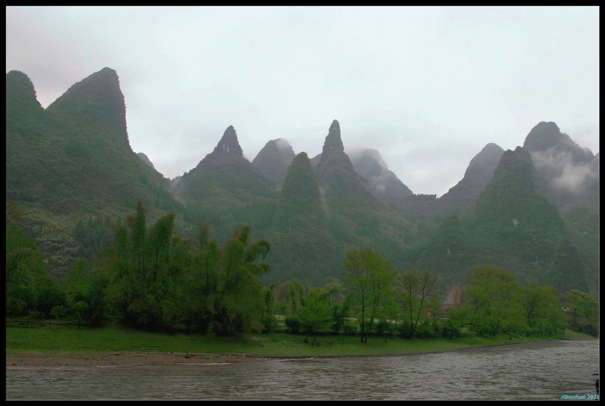 Paisaje en Guilin