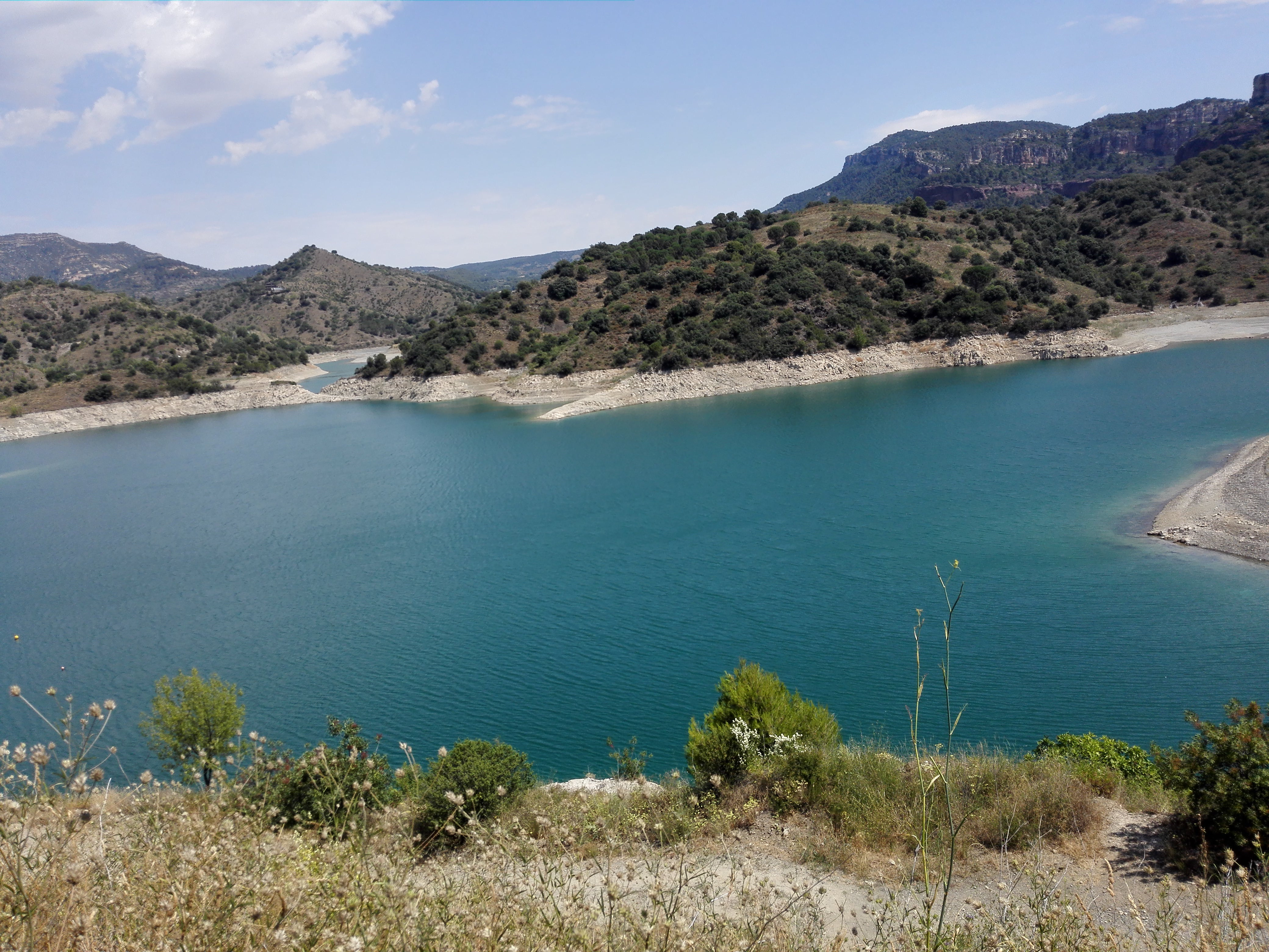 Relieve en Embalse de Siurana