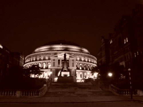 Noche en Royal Albert Hall
