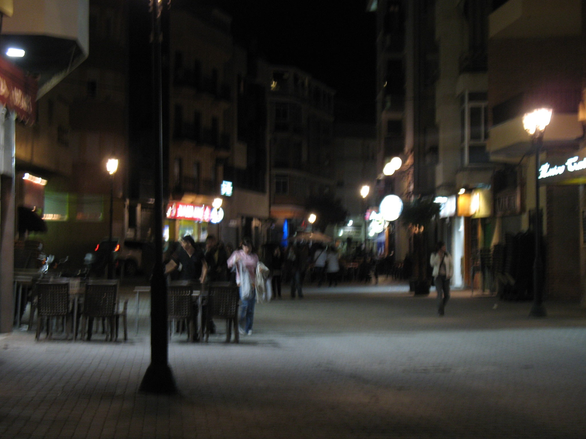 Night Out in Albacete Tejares Zone