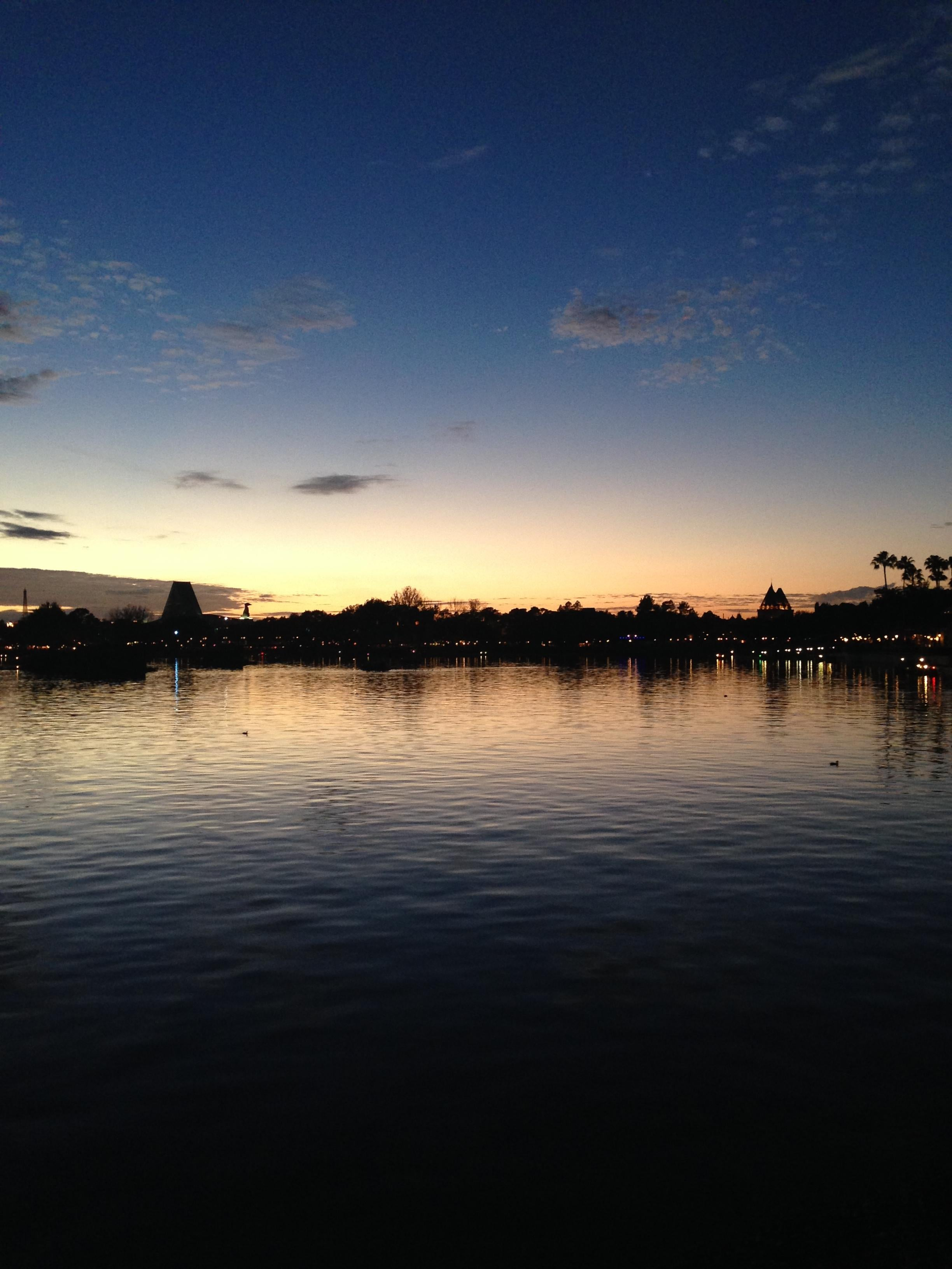 Atardecer en Walt Disney World