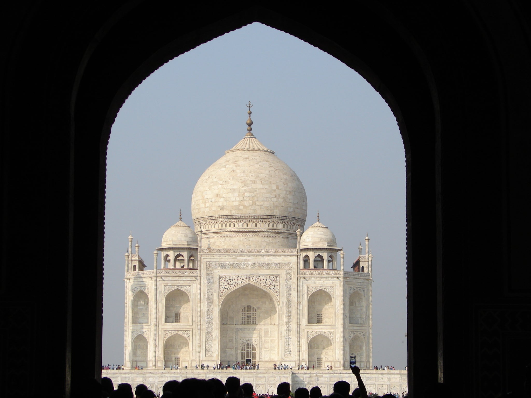 Arquitectura en Taj Mahal