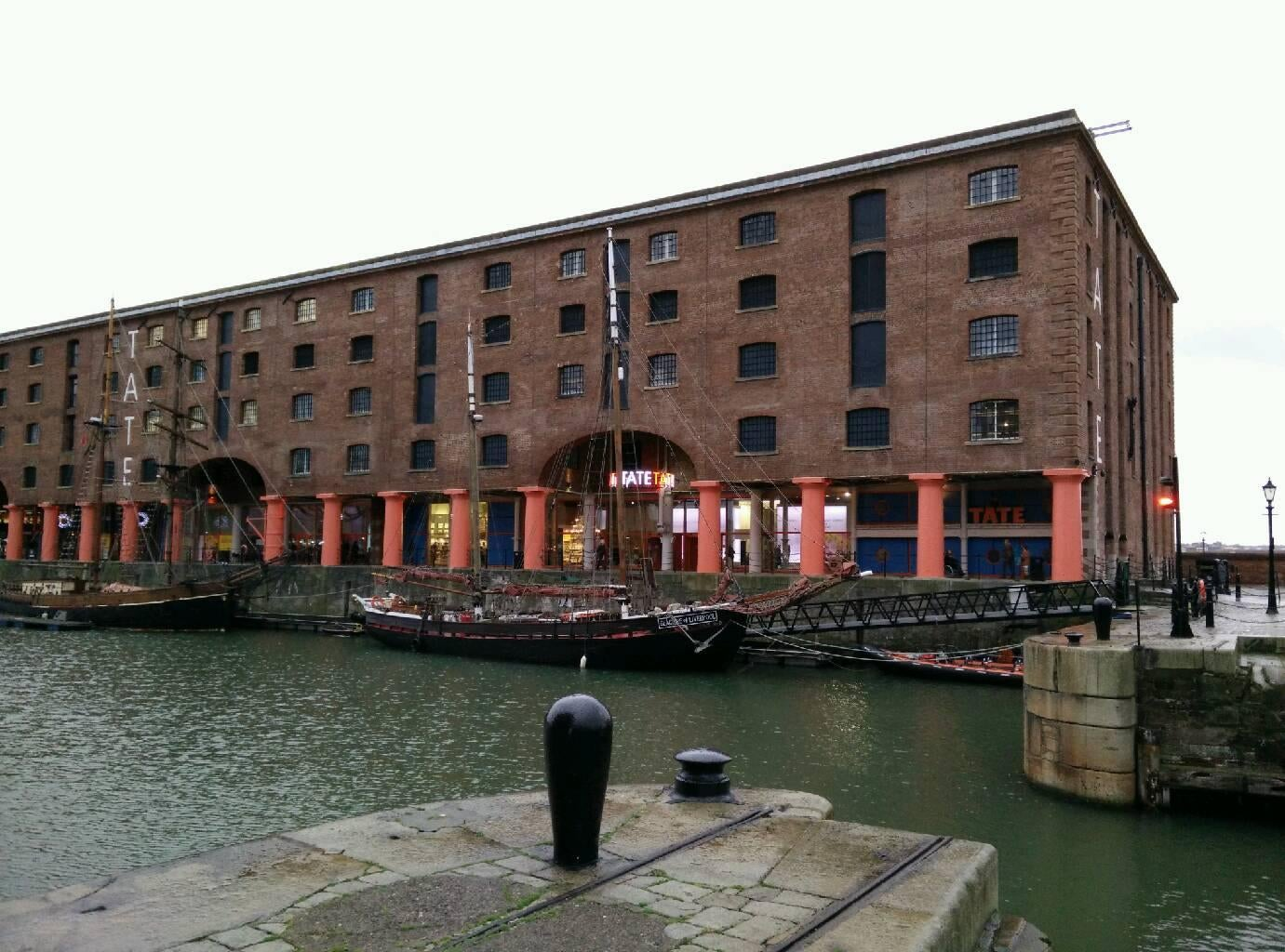 Remo en Royal Albert Dock