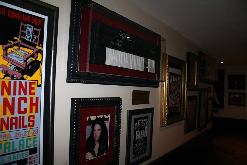 Pared en Hard Rock Café (Nueva York)