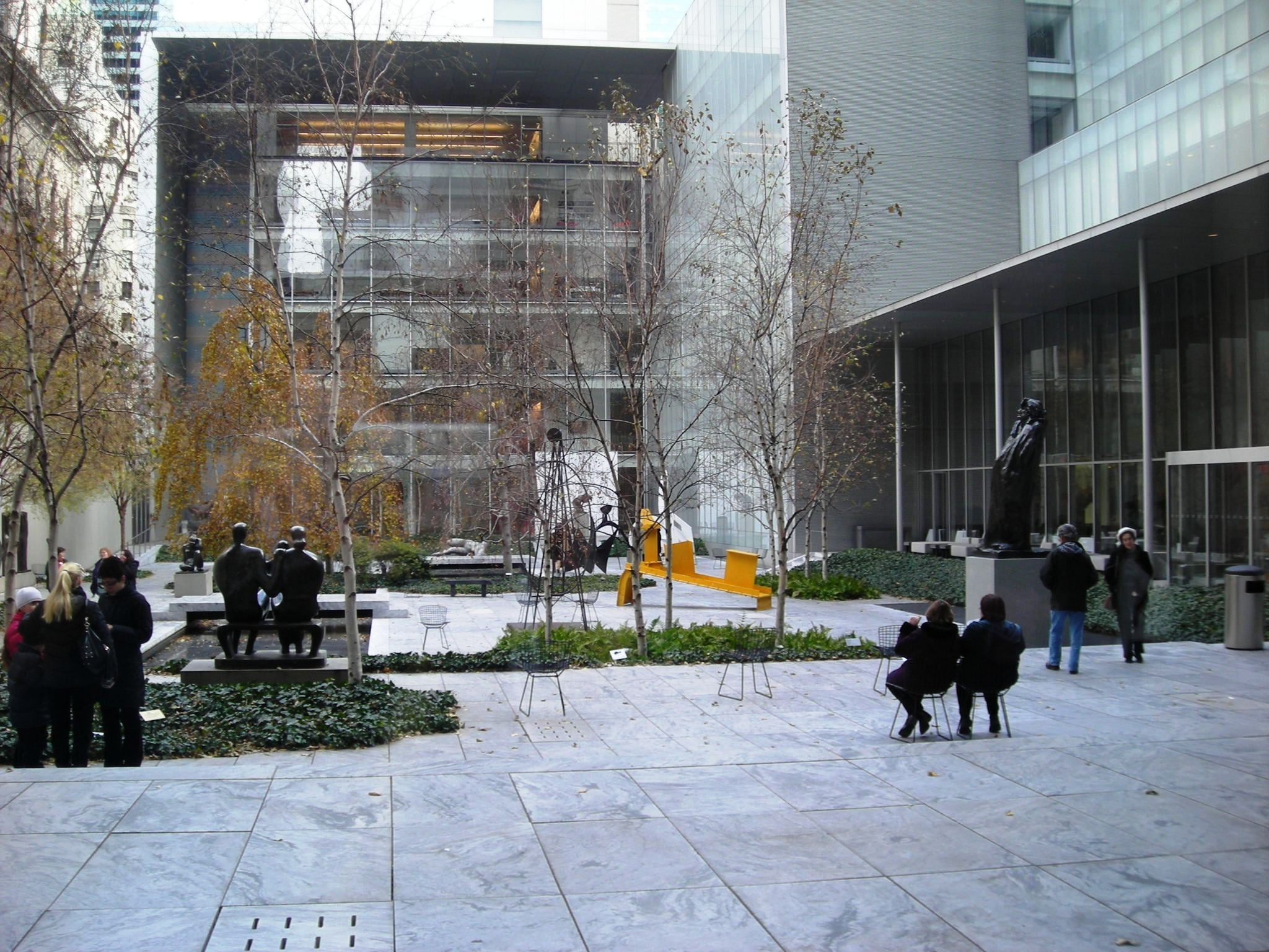 Plaza en Museum of Modern Art - MoMA
