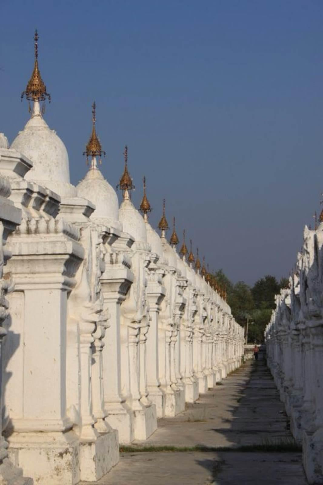 Blanco en Mandalay