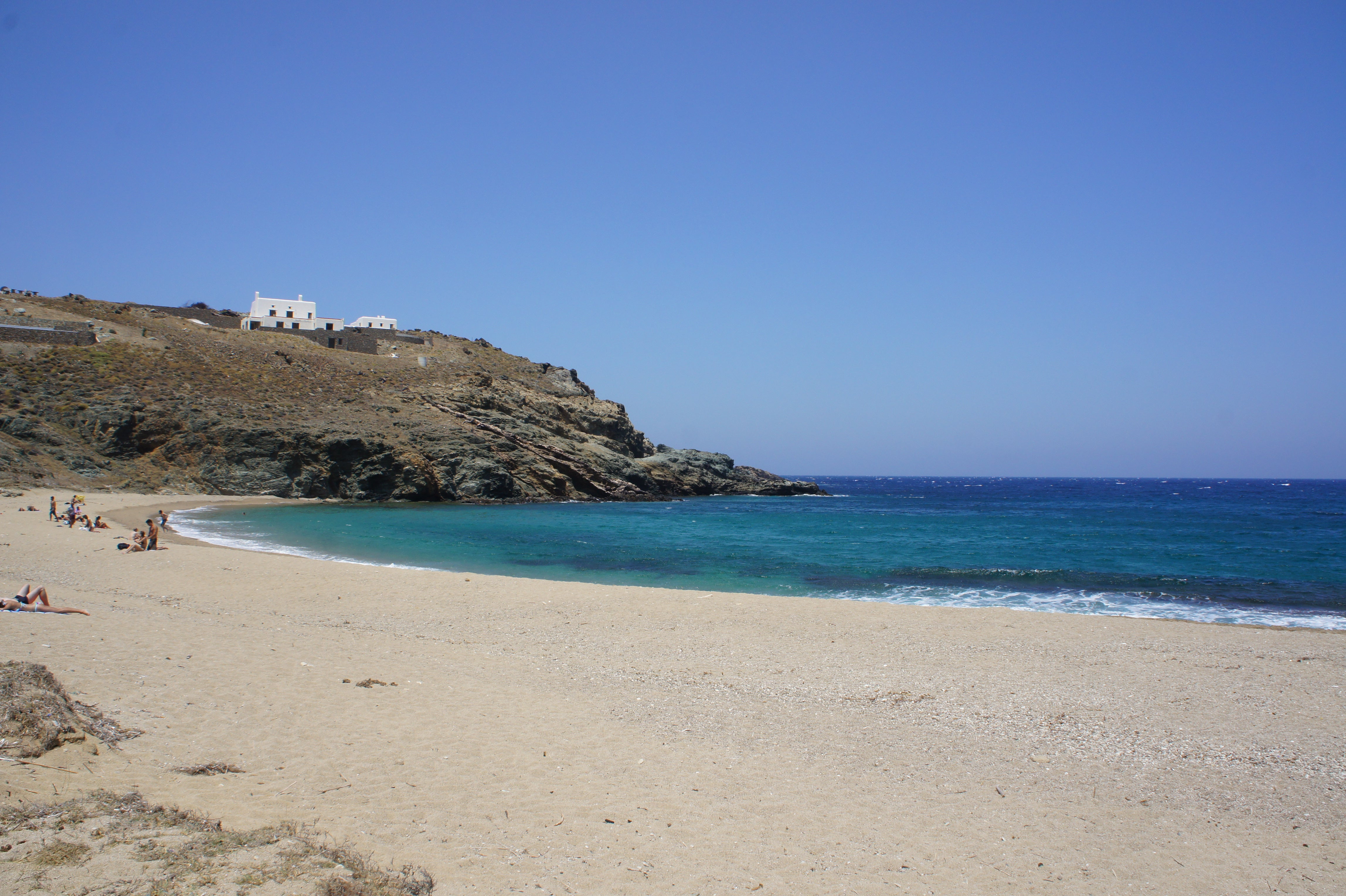 Mar en Playas de Mikonos