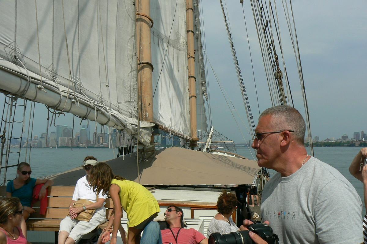 Gran Velero en Paseo en el velero Clipper City Tall Ship