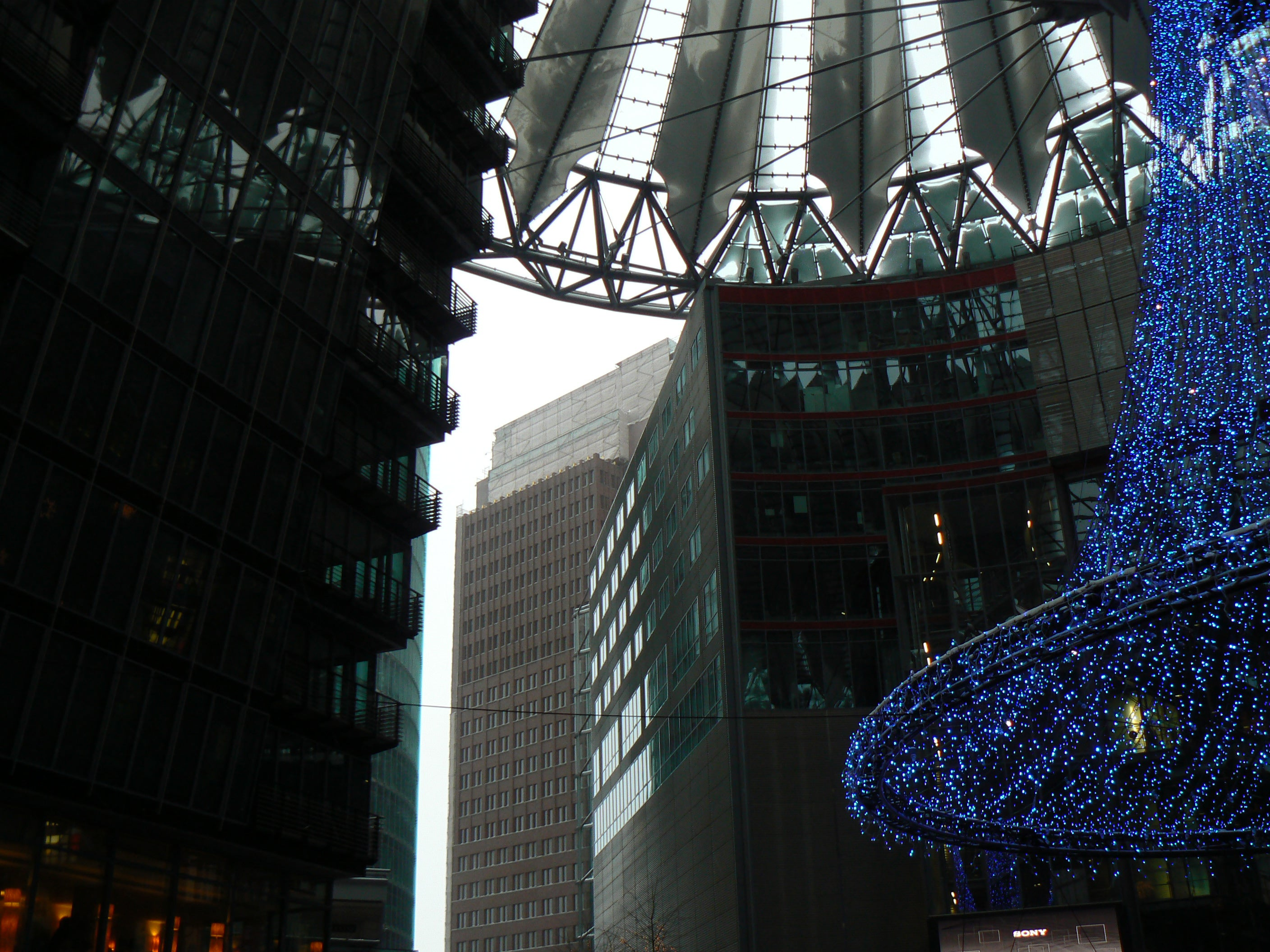 Azul en Sony Center
