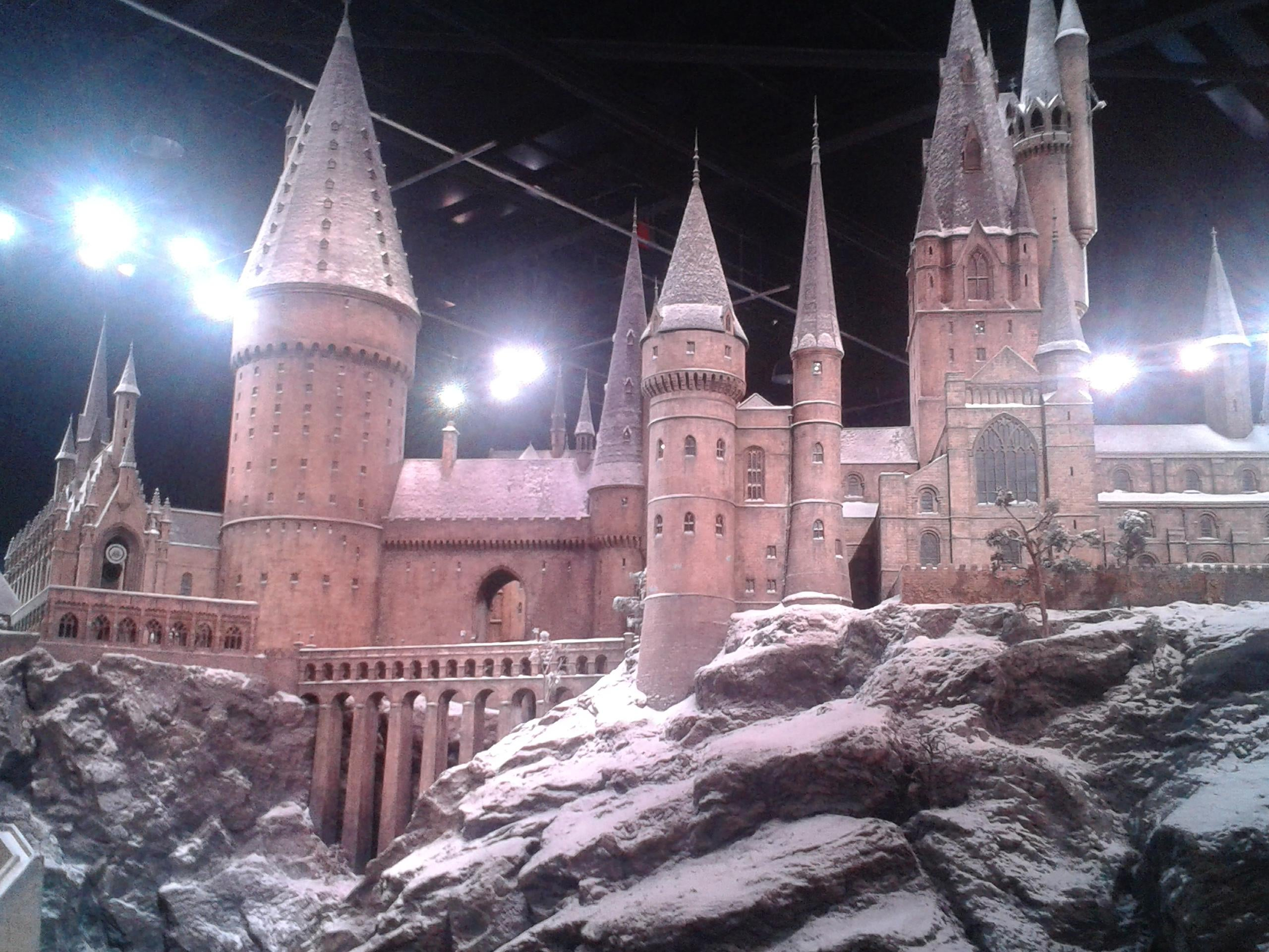 Invierno en The Making of Harry Potter